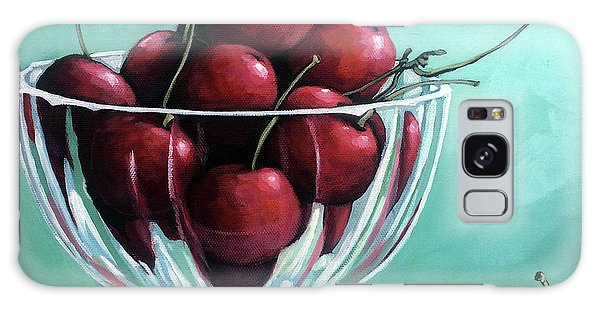 Bowl Of Cherries Galaxy Case