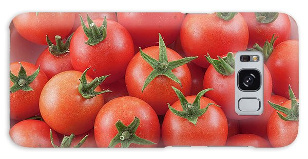 Galaxy Case featuring the photograph Bowl Of Cherry Tomatoes by James BO Insogna