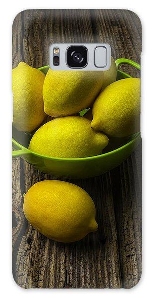 Bowl Of Lemons Galaxy Case