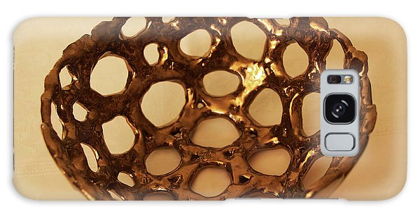 Bowle Of Holes Galaxy Case by Itzhak Richter