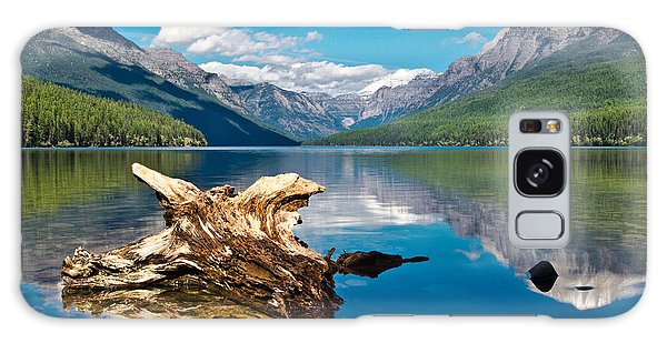 Bowman Lake 1, Glacier Nat'l Park Galaxy Case