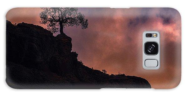 Box Canyon Sunset Galaxy Case