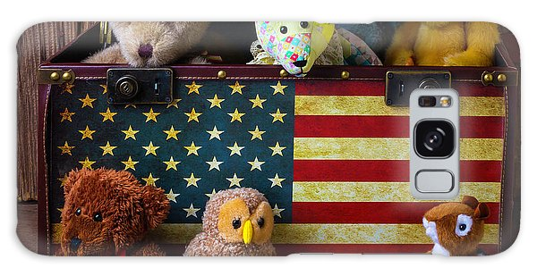 Box Full Of Bears Galaxy Case by Garry Gay