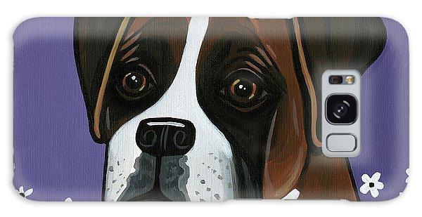 Boxer Galaxy Case by Leanne Wilkes