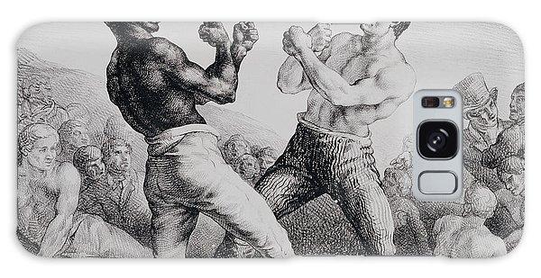 Sport Art Galaxy Case - Boxers by Theodore Gericault
