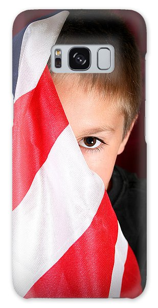 Boy And His Country Galaxy Case