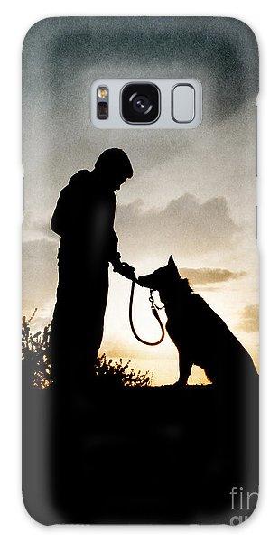 Boy And His Dog Galaxy Case
