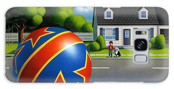Boy And The Ball  Galaxy Case