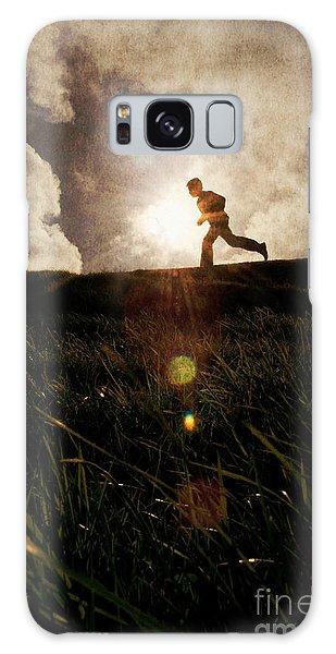 Boy Running Galaxy Case