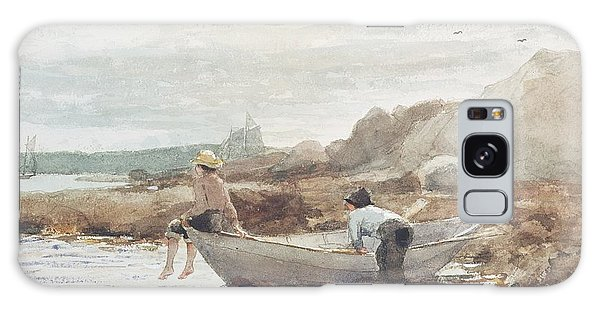 Boat Galaxy S8 Case - Boys On The Beach by Winslow Homer
