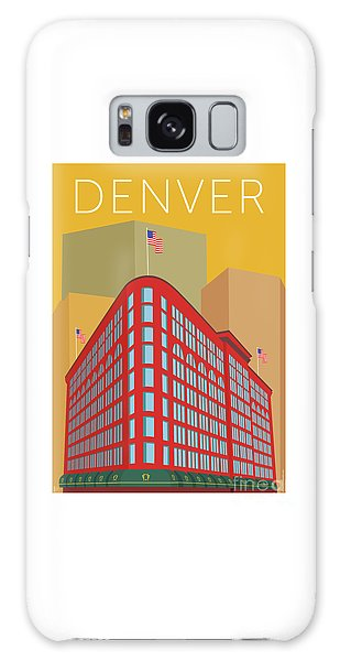 Denver Brown Palace/gold Galaxy Case