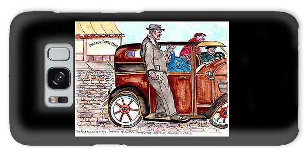Bracco Candy Store - Window To Life As It Happened Galaxy Case by Philip Bracco