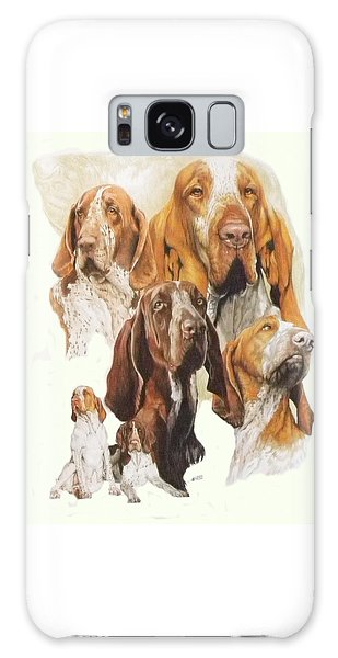 Bracco Italiano Medley Galaxy Case