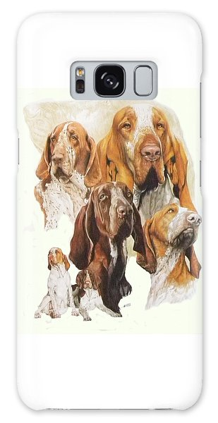 Bracco Italiano W/ghost Galaxy Case by Barbara Keith