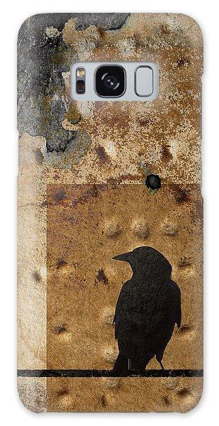 Braille Crow Galaxy Case