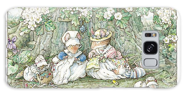 Brambly Hedge - Hawthorn Blossom And Babies Galaxy S8 Case