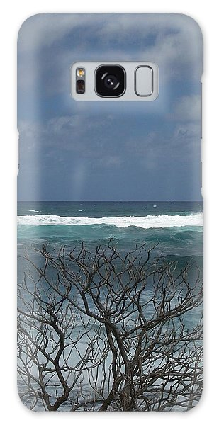 Branches Waves And Sky Galaxy Case