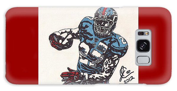 Brandon Jacobs 1 Galaxy Case by Jeremiah Colley