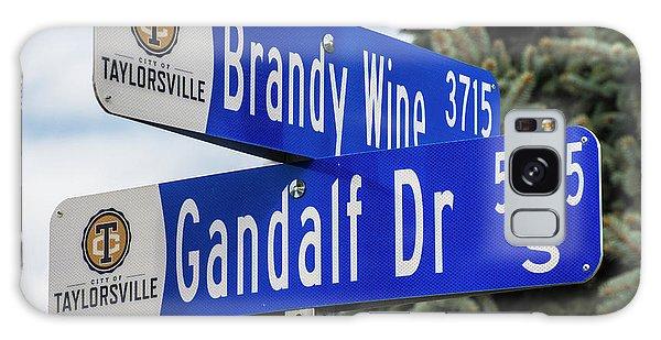 Brandywine And Gandalf Street Signs Galaxy Case by Gary Whitton