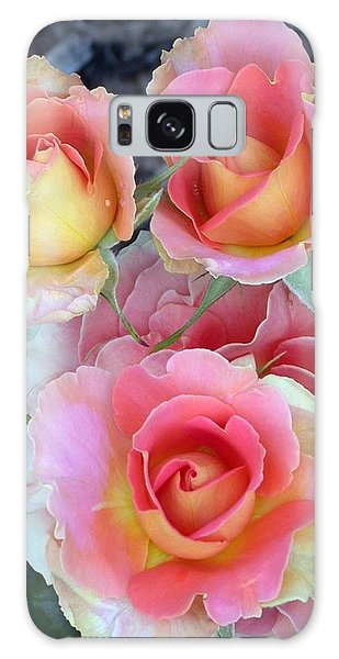 Brass Band Roses Galaxy Case