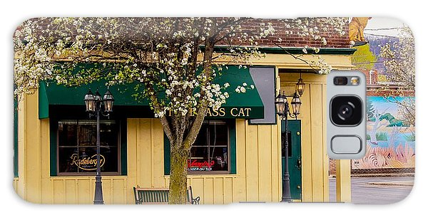 Brass Cat Pub Easthampton Galaxy Case