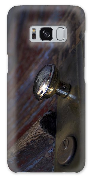 Brass Door Knob I Galaxy Case by Henri Irizarri