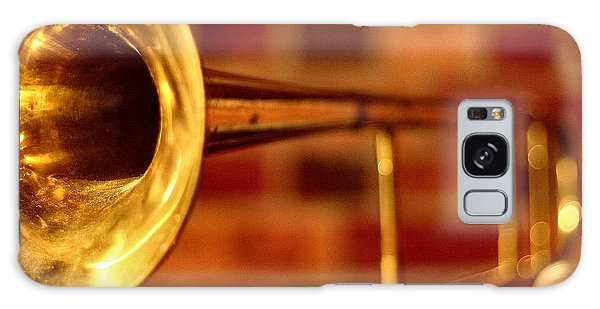 Trombone Galaxy S8 Case - Brass Trombone by David  Hubbs