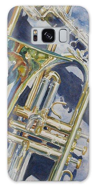 Trombone Galaxy Case - Brass Winds And Shadow by Jenny Armitage