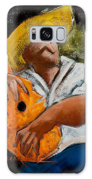 Galaxy Case featuring the painting Bravado Alla Prima by Oscar Ortiz