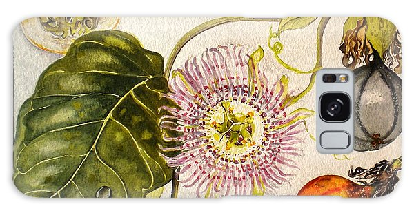 Brazilian Passion Fruit             Passiflora Ligularis Seme Galaxy Case