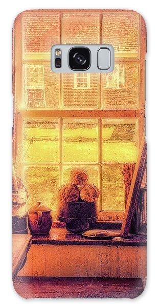 Bread In The Window Galaxy Case