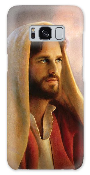 Galaxy Case featuring the painting Bread Of Life by Greg Olsen