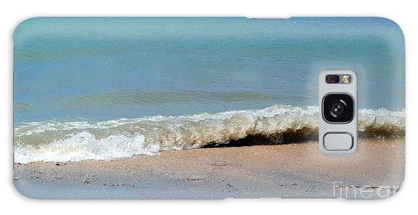 Break In The Sand Galaxy Case by Jeanne Forsythe