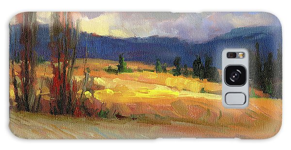 Galaxy Case featuring the painting Break In The Weather by Steve Henderson