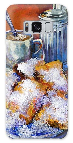 Breakfast At Cafe Du Monde Galaxy Case