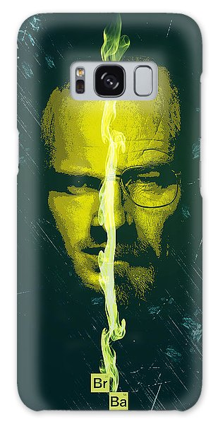 Breaking Bad Poster Heisenberg Print Walter White And Jesse Pinkman Portrait Wall Decor Galaxy Case
