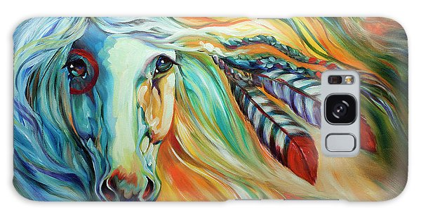 Breaking Dawn Indian War Horse Galaxy Case