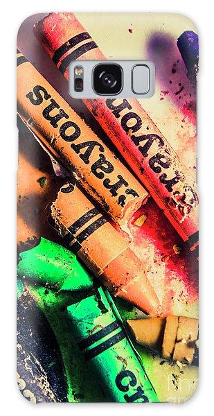 School Galaxy Case - Breaking The Creative Spectrum by Jorgo Photography - Wall Art Gallery