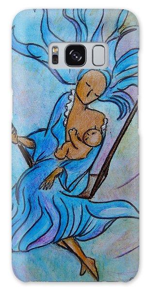 Breastfeeding Everywhere Breastfeeding On A Swing Galaxy Case