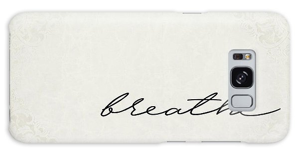 Breathe Galaxy Case - Breathe One Word Series by Ricky Barnard
