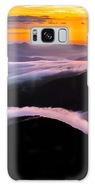 Breatthtaking Blue Ridge Sunrise Galaxy Case