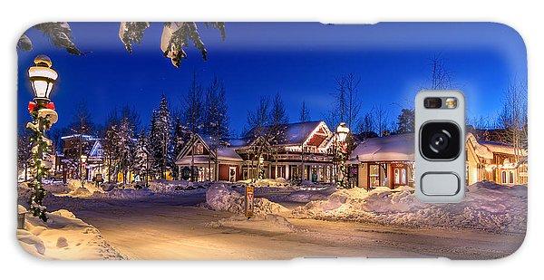 Breckenridge Winter Morning Galaxy Case by Michael J Bauer