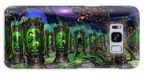Breeding On Other Lands Galaxy Case by Tony Koehl
