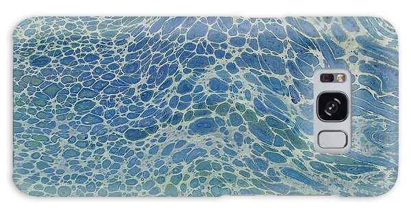 Breeze On Ocean Waves Galaxy Case