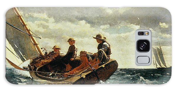 Boat Galaxy S8 Case - Breezing Up by Winslow Homer