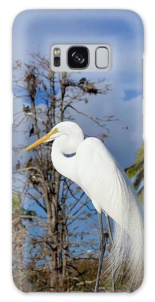 Breezy Egret Galaxy Case