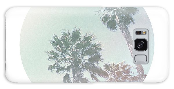 Faded Galaxy Case - Breezy Palm Trees- Art By Linda Woods by Linda Woods