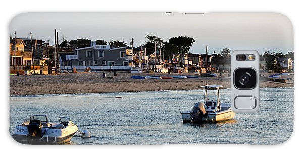 Breezy Point Bayside 2 Galaxy Case by Maureen E Ritter