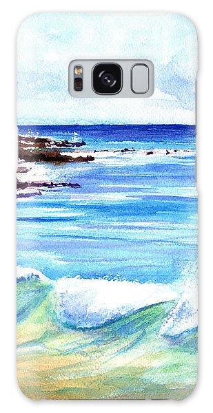 Brennecke's Beach Galaxy Case by Marionette Taboniar