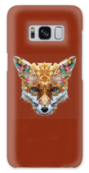 Brerr Fox T-shirt Galaxy Case by Herb Strobino